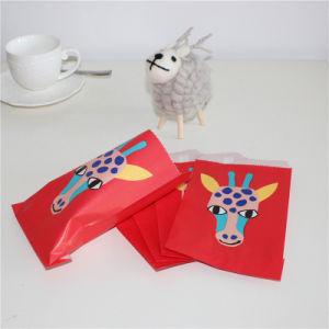 2017 New Design Giraffe Printing Paper Treat Bag pictures & photos