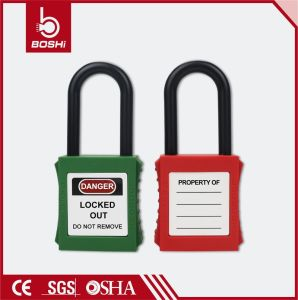 Nylon Non-Conductive Shackle 38mm Safety Padlock (BD-G11) pictures & photos