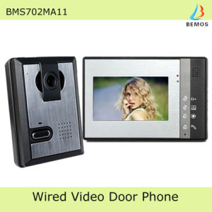 7 Inch Popular Video Door Phone Doorbell Intercom Kit pictures & photos