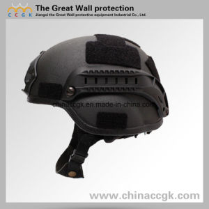 Aramid Fiber /Kevlar Mich 2000 Tactical Ballistic Helmet Nij Iiia