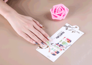 Beauty Flowers Nail Wrap pictures & photos