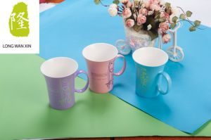 Personalized Sparkling Color Ceramic Coffee Mug pictures & photos