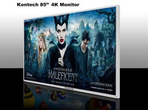 85-Inch 3840X2160 4k LCD Display with Ce and RoHS Certificates pictures & photos
