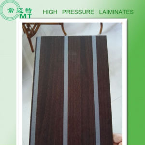 Wood Grain Laminate Kitchen Cabinets/HPL Furniture pictures & photos