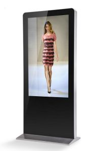 55inch Interactive Kiosk-Digital Signage-Portrait Touch Display