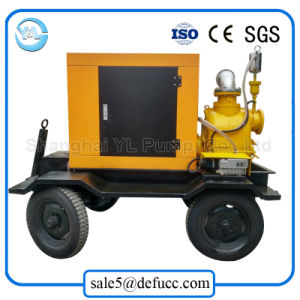 Mobile Self Priming Diesel Engine Dewatering Water Pump pictures & photos