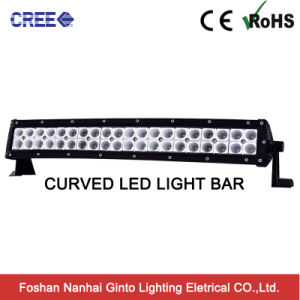 Curved 120W Sopt/Flood/Combo 22inch LED Light Bar for Offroad (GT3102-120CR) pictures & photos
