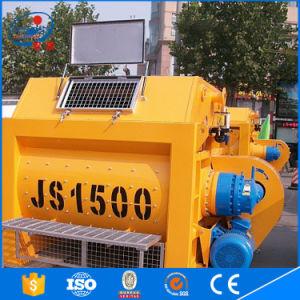 Jinsheng Js Type Stationary Double Twin Shaft Js1500 Concrete Mixer pictures & photos