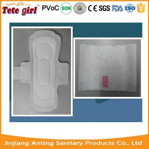 240mm Ultra Thin Pure Cotton Sanitary Napkins Pads with Wings pictures & photos