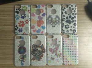 Upgrade 3-in-1 Glitter Bling Hybrid PC TPU Bumper Shockproof Case pictures & photos