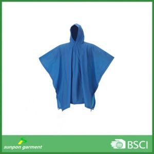 Adult Rain Cape/PVC Poncho/Rainponcho/PVC Waterproof Long Raincoat pictures & photos