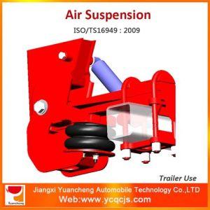 German Type Air Suspension Bag Lifting Trailer Suspension pictures & photos