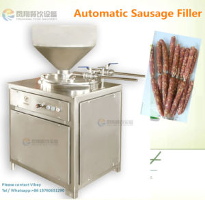 2017 Hot Sale Automatic Commercial Sausage Filler / Stuffer, Ham Sausage Filling Machine pictures & photos