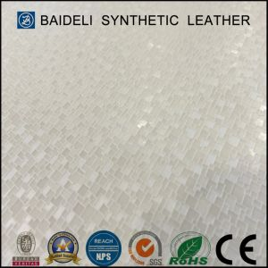 Sparkling Shine PVC Synthetic Leather for Shoes pictures & photos