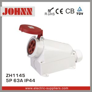 IP44 5p 63A Surface Mounted Socket pictures & photos