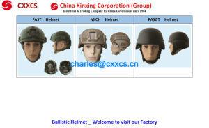 (FAST) Reliable Quality Bulletproof, Ballistic Helmet (NIJ IIIA) pictures & photos