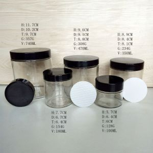 3oz 6oz 10oz 26oz Cylinder Glass Storage Jars in Promotion pictures & photos