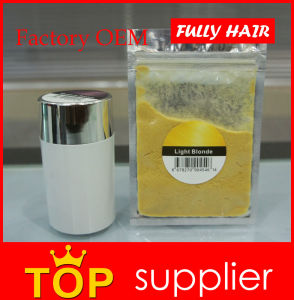 Powder Form Fully Keratin Hair Building Fibers for Hair Conceal pictures & photos
