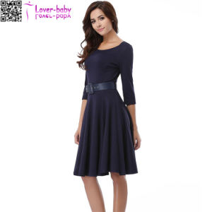 Summer Clothes Casual Dress for Lady (L36189) pictures & photos