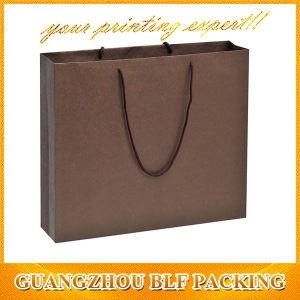 Spot UV Logo Paper Black Gift Bag (BLF-PB312) pictures & photos