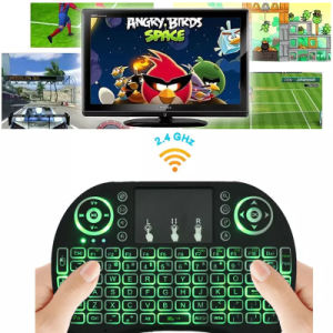 Rii I8 Smart Fly Air Mouse Remote Backlight 2.4GHz Wireless Keyboard Remote Control pictures & photos