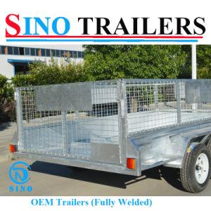 Galvanized OEM 12X6 Tandem Cage Box Trailer pictures & photos