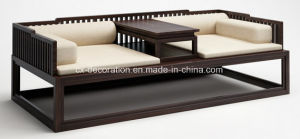 Luxury Ancient Chinese Style with Pad Wooden Sofa