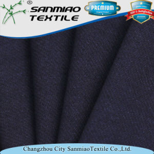 High Quality 320GSM Spandex Twill Knitted Denim Fabric pictures & photos