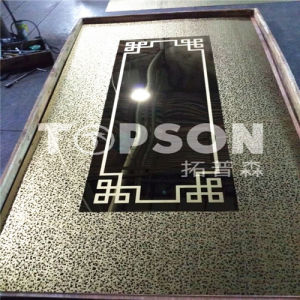 Etched Finish Stainless Steel Sheet 304 pictures & photos