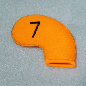 Yellow Neoprene Golf Iron Headcover pictures & photos