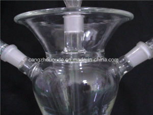 2-Hole OEM Glass Hookah with Factory Price pictures & photos