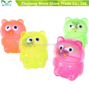 New Colorful Puffer Yoyo Bear Toys Light up Ball pictures & photos