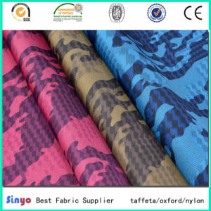 PU/PVC Coated Oxford 600d Custom Printed Polyester Fabric with Wateproof pictures & photos