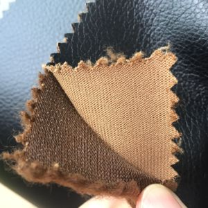 1.5mm Breathable Synthetic PU Leather for Making Furniture pictures & photos