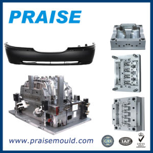 Automotive Injection Mould/ Auto Parts Plastic Mould Injection /Molded Parts Bumper Plastic Mould pictures & photos