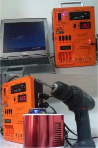 Solar Generator and Charger for Outside Using pictures & photos