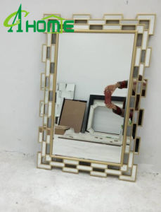 Frame Decoration Classical Cheap Retangle Hair Salon Wall Mirror pictures & photos