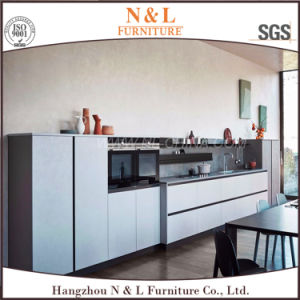 White Color Wooden Home Furniture Wood Kitchen Cabinet pictures & photos
