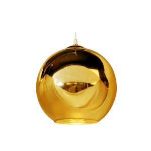 Replica Searchlight Vibrant Gold Globe Metal Ceiling Pendant Light Oz-Al672 pictures & photos