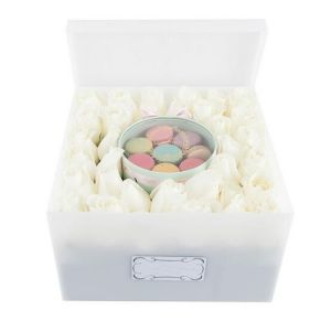 Wholesale Clear Acrylic Rose Box with Lid pictures & photos