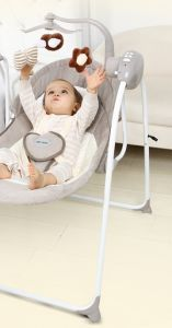Wholesale Baby Electric Rocking Chair Cradle Baby Chair Portable Swing with Ce Certificate pictures & photos