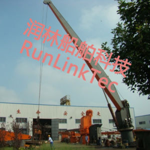 Bulk Cargo Ship Marine Crane Telescopic Knuckle pictures & photos