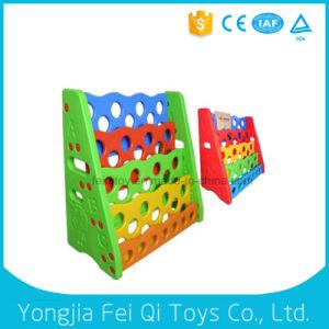 Kid Toy Plastic Bookshelf Plastic Toy Children Equipment School Furniture pictures & photos