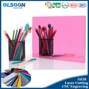 Guangzhou Manufacture Olsoon Silver Acrylic Mirror Sheet pictures & photos