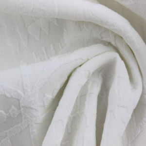 100% Polyester Jacquard Stretch Fabric pictures & photos