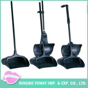Microfiber Soft Best Sweeping Fine Bristle Outside Push Corn Broom pictures & photos