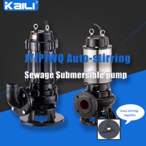 WQ Non-clog Electric Submersible Sewage Pump (WQ10-10-0.75) pictures & photos
