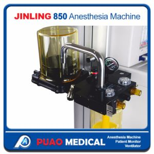 Chinese Advanced Anesthesia Machine Portable Anesthesia Machine (Jinling-850) pictures & photos