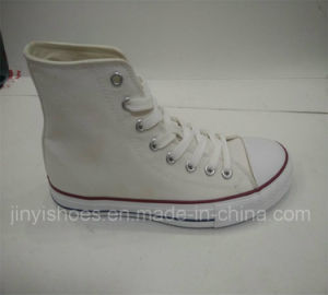 2016 Fashion High-Top Shoes with Vulcanized Rubber Sole pictures & photos