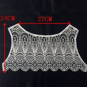 Water Soluble Lace Collar pictures & photos